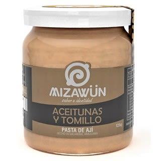 Pasta de Ají con Aceitunas y Tomillo Mizawun