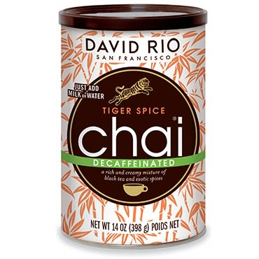 Té Tiger Spice Descafeinado David Rio