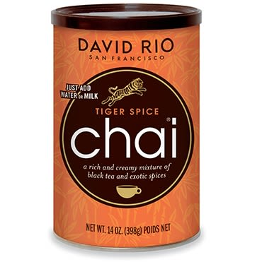 Té Tiger Spice Chai David Rio
