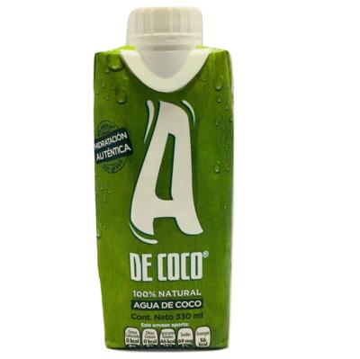 Agua de Coco 330 Ml A de Coco