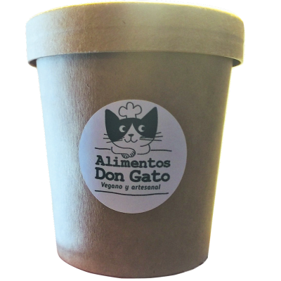 Helado Cookies and Cream 500 cc, Don Gato