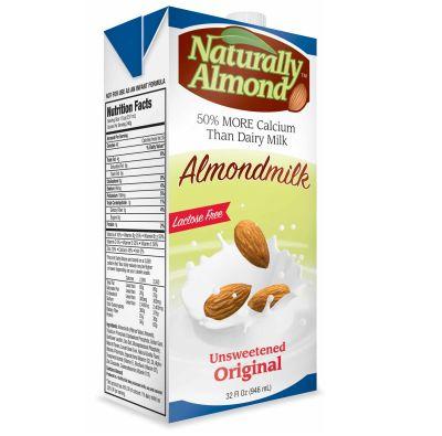 Alimento líquido de Almendras Naturally Almond