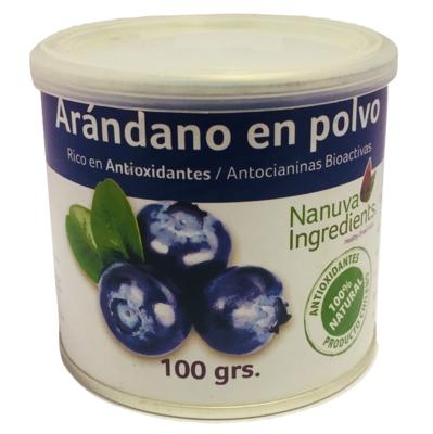 Arándano en Polvo Nanuva