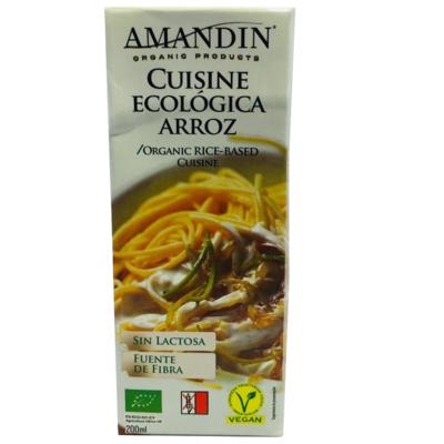 Crema de Arroz Cuisine Amandin