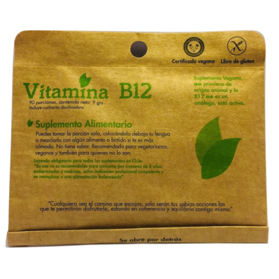 Vitamina B12 Dulzura Natural
