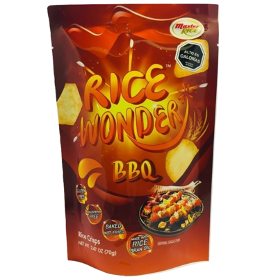Chips de Arroz BBQ Rice Wonder