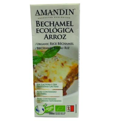 Crema de Arroz Bechamel Amandin