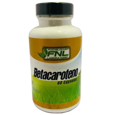Betacaroteno en Cápsulas FNL