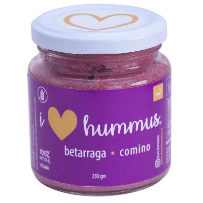 Hummus betarraga - comino, I Love Hummus