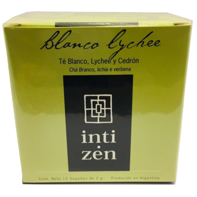 Té Blanco Lychee Inti Zen