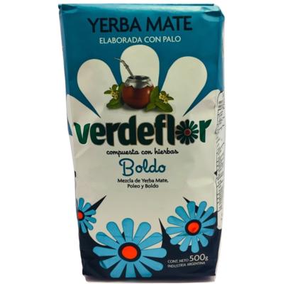 Yerba Mate Boldo Verdeflor
