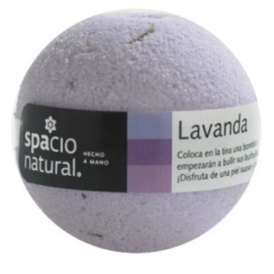 Bomba Efervescente Lavanda Spacio Natural