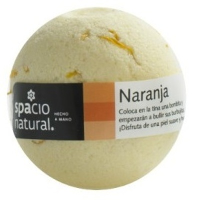 Bomba Efervescente Naranja Spacio Natural
