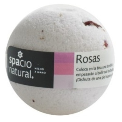 Bomba Efervescente Rosas Spacio Natural