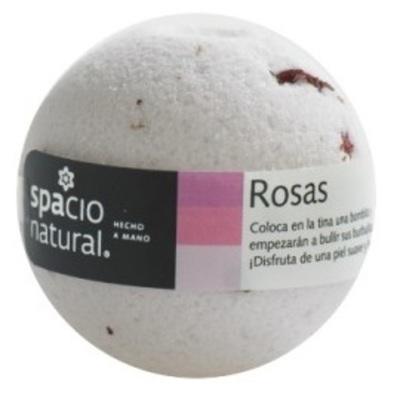Bomba Efervescente Rosas Spacio Natural