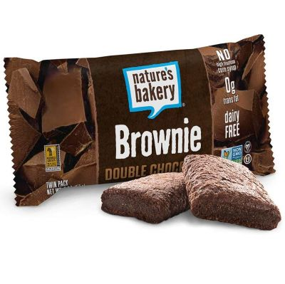 Barra de Brownie, Nature's Bakery