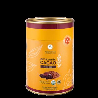 Amazonic Cacao 100% en Polvo Aquasolar 200 g