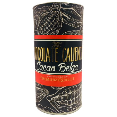 Chocolate Caliente Cacao Belga Huerto Azul