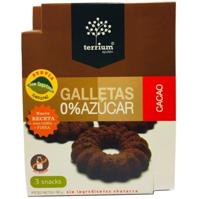 Galletas Cacao Terrium 90 Gr.