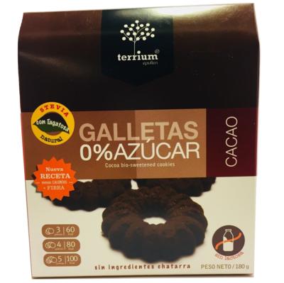 Galletas Cacao Terrium 180 Gr.