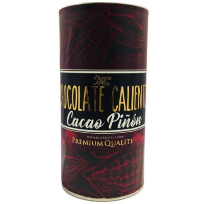 Chocolate Caliente Cacao Piñón Huerto Azul