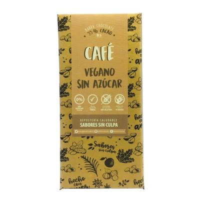 Chocolate 55% Cacao Café Sin Azúcar Sabores Sin Culpa