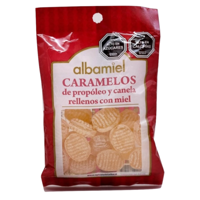 Caramelos Propóleo Canela Del Alba