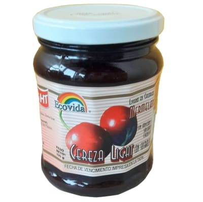 Mermelada Light Cereza Ecovida