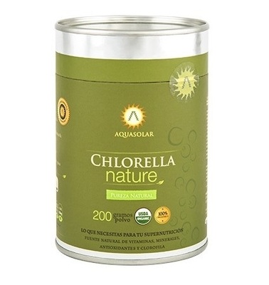 Chlorella Nature en Polvo Aquasolar
