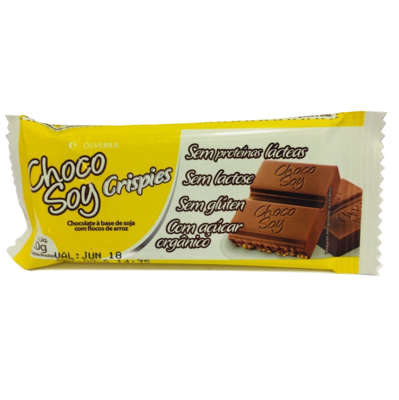 Chocolate Crispies ChocoSoy