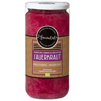 Sauerkraut Clásico Púrpura La Fermentista