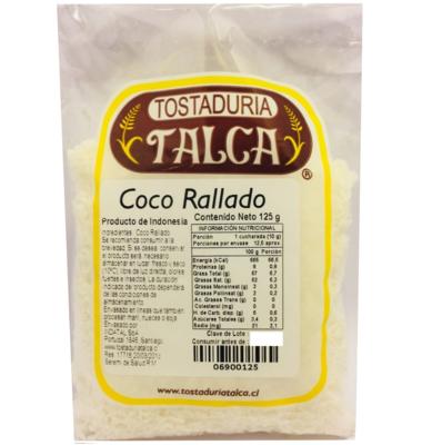 Coco Rallado Tostaduría Talca