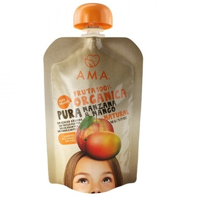 Compota Manzana Mango Orgánica AMA