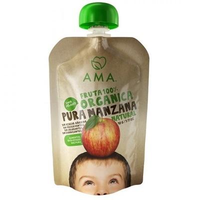 Compota Manzana Orgánica AMA