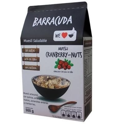 Muesli Cranberry-Nuts Barracuda