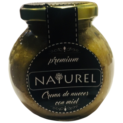 Crema de Nueces con Miel, Naturel