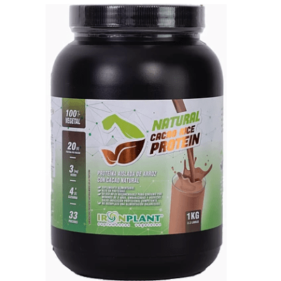 Proteína de Arroz con Cacao Natural Iron Plant