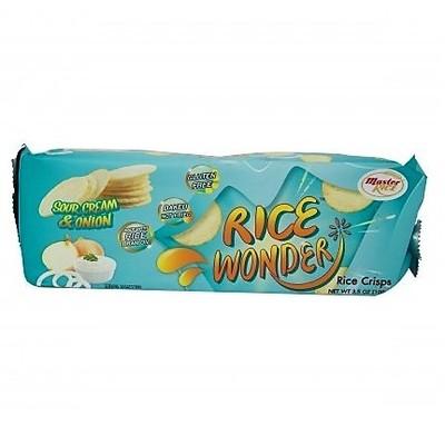 Chips de Arroz Sour Cream & Onion Rice Wonder