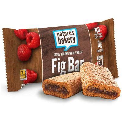 Barra de trigo integral rellena de frambuesa, Nature's Bakery