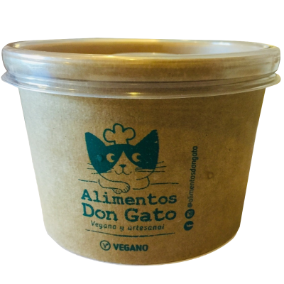 Helado Vegano Cookies and Cream, Alimentos Don Gato