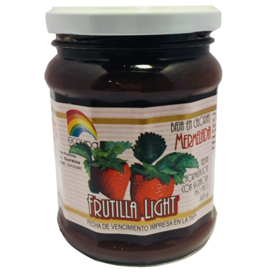 Mermelada Light Frutilla Ecovida