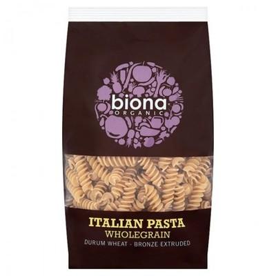 Pasta Integral Fussilli Biona