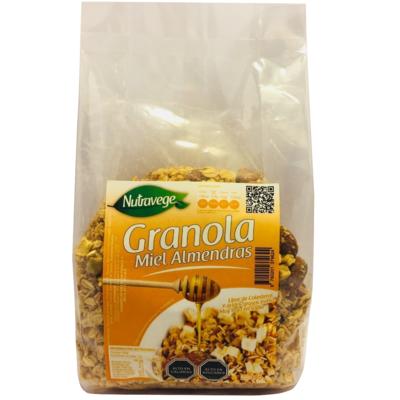 Granola Miel Almendras 390 Gr. Nutravege