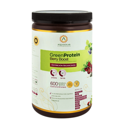Proteina Green Protein Berry Boost Aquasolar
