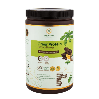 Proteina Green Protein Cacao Power Aquasolar