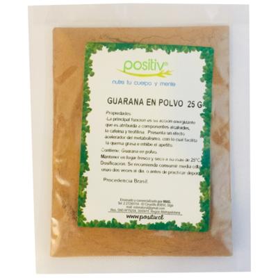 Guaraná en Polvo Positiv