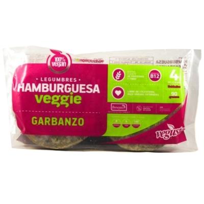 Hamburguesas Garbanzos Vegusta