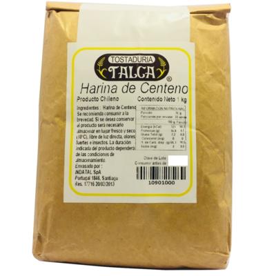 Harina de Centeno Tostaduría Talca