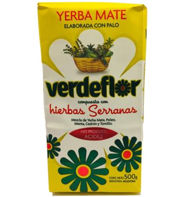 Yerba Mate Hierbas Serranas Verdeflor