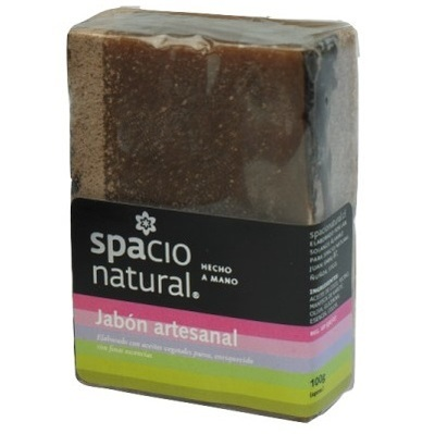 Jabón Artesanal Almendras Miel Spacio Natural
